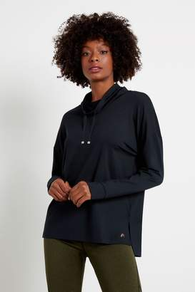 F&F Womens Navy Soft Touch Sweat Top - Black