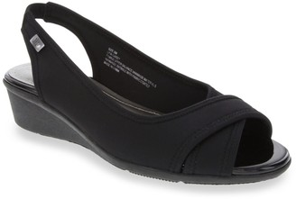 London Fog Casey Women's Wedge Sandals