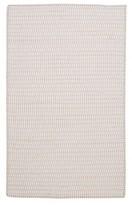 Nobrand No Brand Tiny Ticking Re-Countangle Canvas Rug
