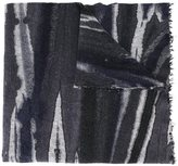 Faliero Sarti blurry stripes scarf