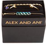 Alex and Ani Galaxy Moon & Star Bracelets, Set of 3, Gold