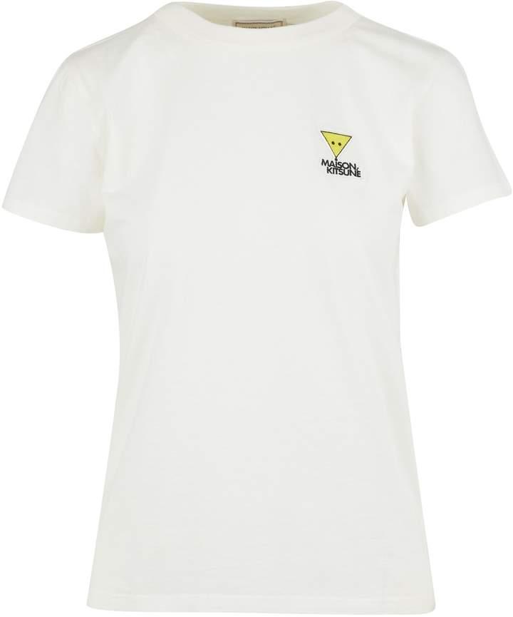 MAISON KITSUNÉ Triangle Fox t-shirt