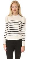 Rebecca Taylor Cotton Stripe Pullover
