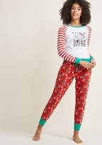 ModCloth Holiday by Day Hello Kitty Pajamas in M - Sleep Set Long