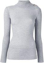 Balmain ribbed knit jumper