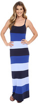 Tommy Bahama Tambour Color Block Long Dress