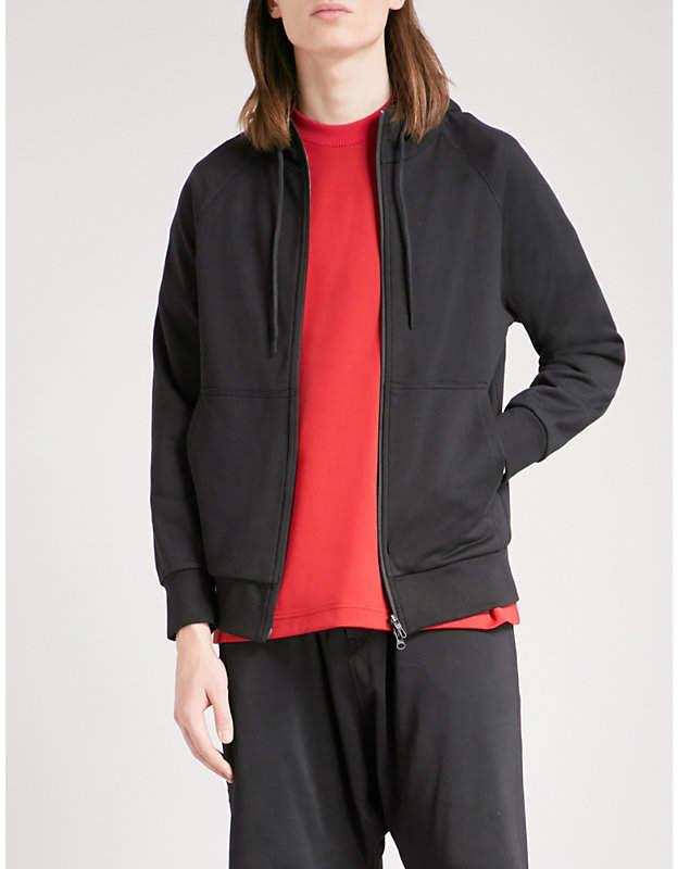 Y-3 Y3 printed cotton-jersey hoody