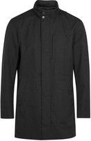 Armani Collezioni Charcoal Water-repellent Jacket