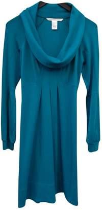 Diane von Furstenberg Blue Wool Dress for Women