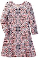 Billabong Tangled Lines Geo Print Dress (Little Girls & Big Girls)