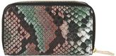 Accessorize Gigi Snake Double Zip Mini Wallet