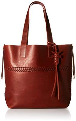 Frye Carson Whipstitch Leather Tote Bag