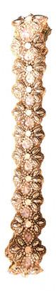 Deepa Gurnani Gold Glitter Hats
