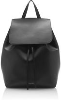 Mansur Gavriel Black Leather Backpack