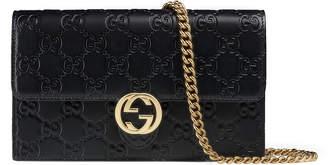 Gucci Icon Signature chain wallet