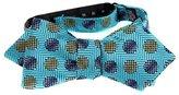 Buy Your Ties FBTZ-DT-13 Mens Diamond Tip Self Tie Bow Tie