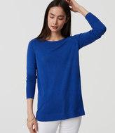 LOFT Back Pleat Sweater