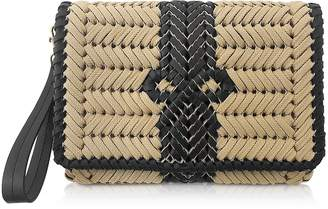 Anya Hindmarch Smooth Rope and Black Leather The Neeson Crossbody Bag
