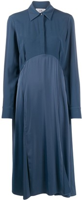 Victoria Victoria Beckham Button-Front Midi Shirt Dress