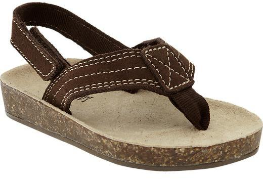 Old Navy Sueded Cork Sandals for Baby