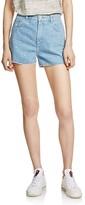 Maje Ilion Embellished Denim Shorts