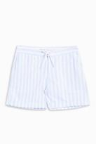 CUISSE DE GRENOUILLE Pin-Striped Shorts