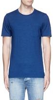 Denham Jeans Katagami panel T-shirt