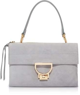 Coccinelle Arlettis Medium Suede Shoulder Bag w/Strap