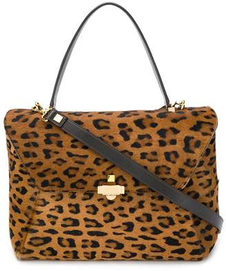 Giancarlo Petriglia Loveletter animal-print tote