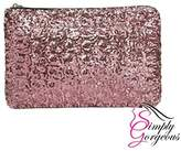 Simply Gorgeous Womens Ladies Glitter Sparkling Sequins Handbag Evening Party Clutch Bag Purse