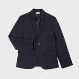 Paul Smith Boys' 7+ Years Navy Wool 'Lord' Blazer