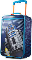 """American Tourister Star Wars R2D2 18"""" Softside Rolling Suitcase"""