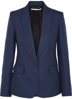 Stella McCartney Ingrid Twill Blazer - Navy