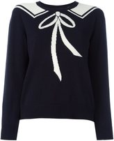 Chinti and Parker bow tie detail jumper