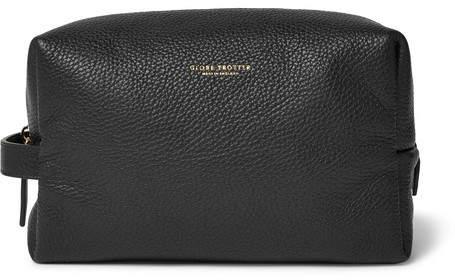 Globe-trotter Propellor Pebble-Grain Leather Wash Bag