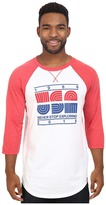 The North Face 3/4 Sleeve USA Baseball Tee