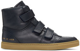 Robert Geller Navy Common Projects Edition High-top Sneakers
