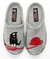 Haflinger Novelty Kitty Slippers