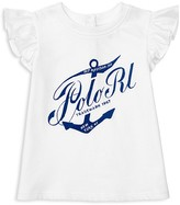 Ralph Lauren Girls' Anchor Top - Baby