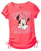 Jerry Leigh Minnie Mouse Side Tie Shirt (Little Girls & Big Girls)