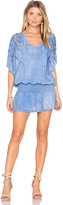 Tiare Hawaii Free Bird Dress in Blue.