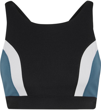 Iris & Ink Color-block Stretch Sports Bra