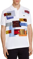 Junya Watanabe Lacoste Patchwork Regular Fit Polo Shirt
