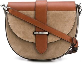 Brunello Cucinelli Logo Plaque Crossbody Bag