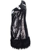 Jeremy Scott Adidas By One Shoulder Dress