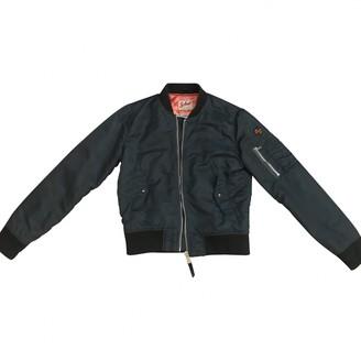 Schott Blue Synthetic Coats