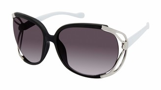 U.S. Polo Assn. U.S. Polo Association Women's PA5026 OXWH Non Polarized Oversized Sunglasses
