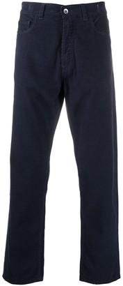 YMC Organic Cotton Cropped Jeans