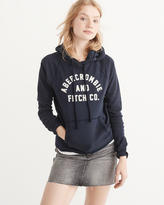 Abercrombie & Fitch Heritage Logo Hoodie