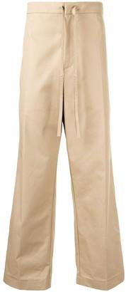 Jil Sander High-Rise Drawstring Trousers